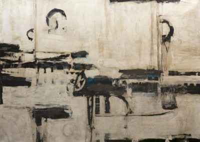 Complexion I - Mixed media on canvas 52x72