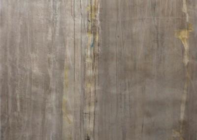 Liquid Silver II - Mixed media on canvas 60x48
