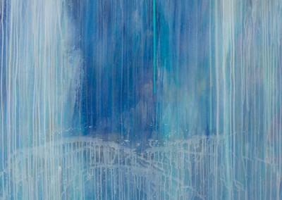 Cascade 3 - Acrylic on canvas 60x50 $5,800 00