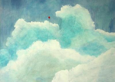 Float 1 - Mixed media on canvas 36x48 $3,900 00