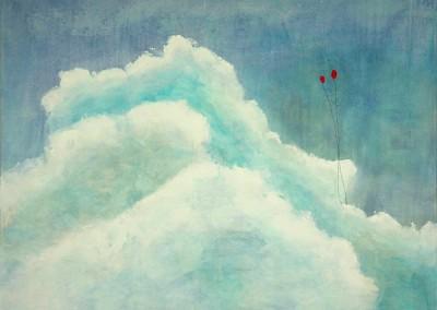 Float 2 - Mixed media on canvas 36x48 $3,900 00