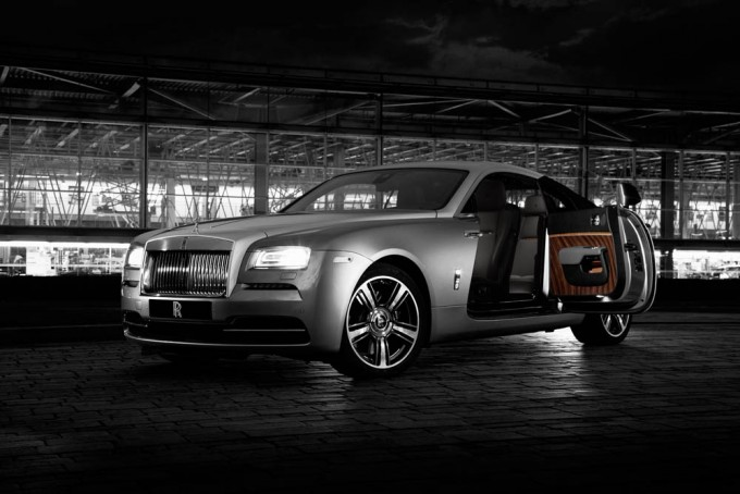 "31/03/2015 – Rolls-Royce Wraith ""Inspired by film by Caitlin Duffy 