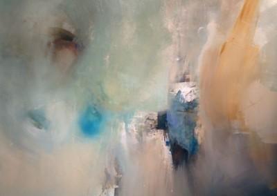 Air of Joy - Mixed media on canvas 48x50