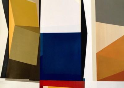 Cut Copy - Mixed media on canvas 58x54 $8,000 00