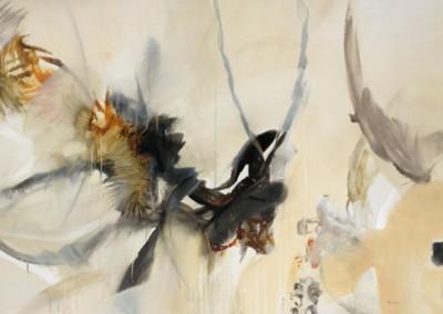 Fauna - Mixed media on canvas 40x60