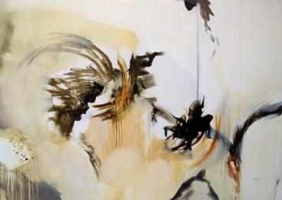 Flora - Mixed media on canvas 40x60