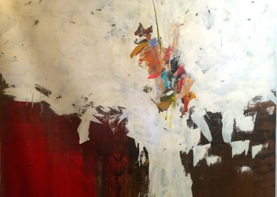 Perri - Mixed media on canvas 64 1-2 64 1-2 $7,500.00