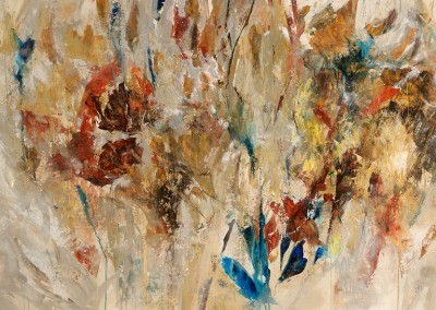 Sun Blaze Gold - Maas Mixed media on canvas 44x64 $5,200.00