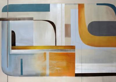 Turnabout -Sydney Edmunds 50x80