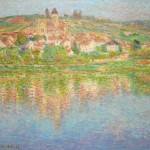 Claude Monet, La Seine à Vétheuil (n.d.).  (estimate- $6 million–8 million). Photo- Courtesy Sotheby's.