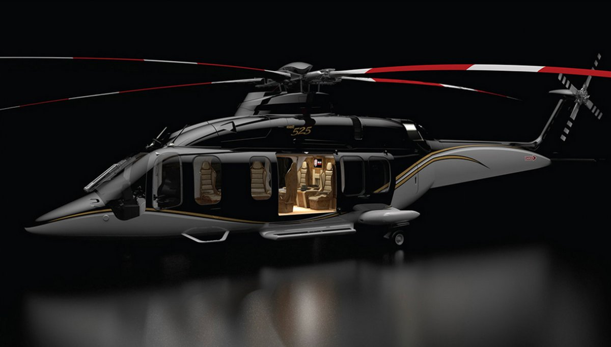 03/04/2015 – This could be the most luxurious helicopter on Earth | By Mary Grady, Robb Report