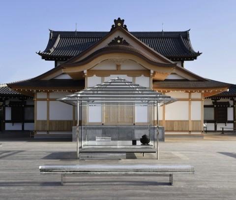 23/04/15 – Tokujin Yoshioka sites kou-an glass tea house on Kyoto mountaintop nina azzarello via designboom