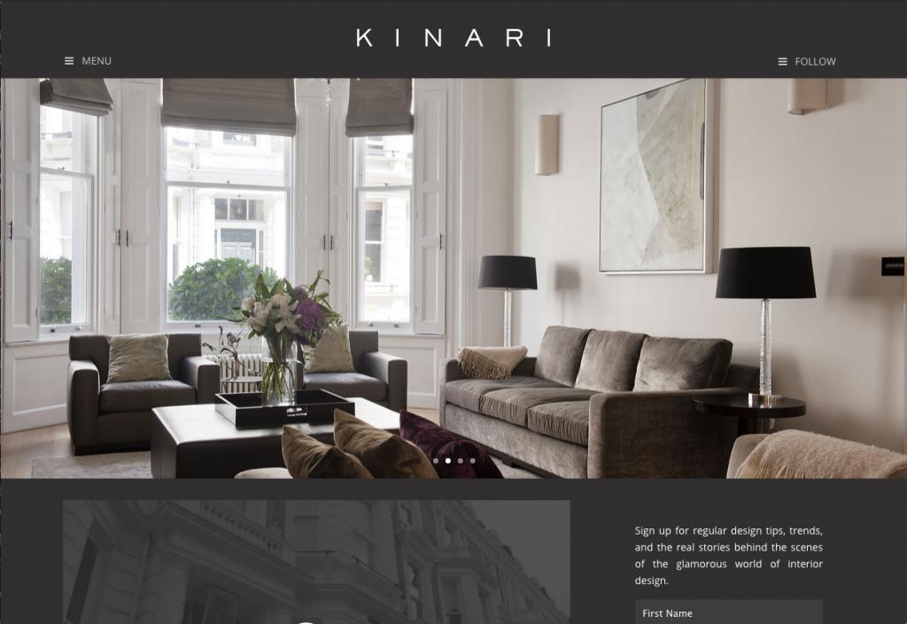KINARI – New website on it's way